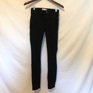 Wildfox Black Skinny Jeans Size 24